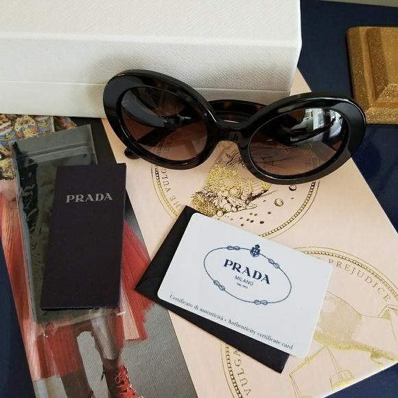 fe6d42b77bb5 Prada Baroque Tortoise Sunglasses. M 5a36cf0f8df47072d2018caa